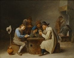 The Card Players | David Teniers II | Oil Painting