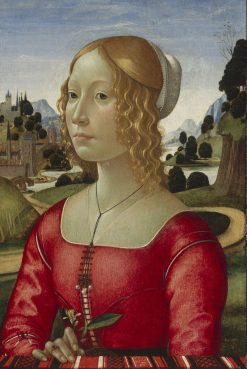 Portrait of a Lady | Domenico Ghirlandaio | Oil Painting