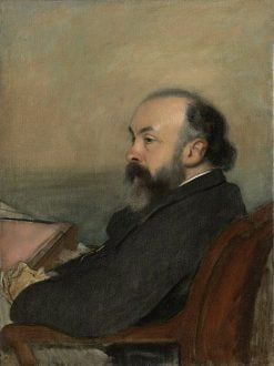 Portrait of a Man | Edgar Degas | Oil Painting