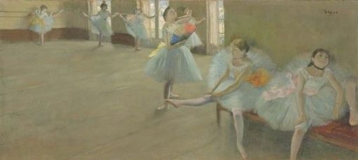 Dancers in the Classroom | Edgar Degas | Oil Painting