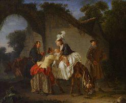 Farewell to the Nurse | Etienne Aubry | Oil Painting