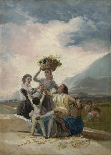 Autumn | Francisco de Goya y Lucientes | Oil Painting