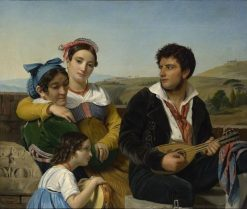 Musical Group | Francois Joseph Navez | Oil Painting