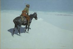 Friends or Foes? (The Scout) | Frederic Remington | Oil Painting