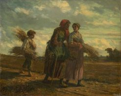 The Gleaners | French School th Century   Unknown | Oil Painting