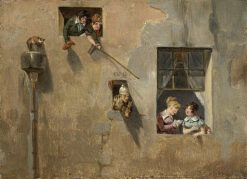 Hecklers | French School th Century   Unknown | Oil Painting