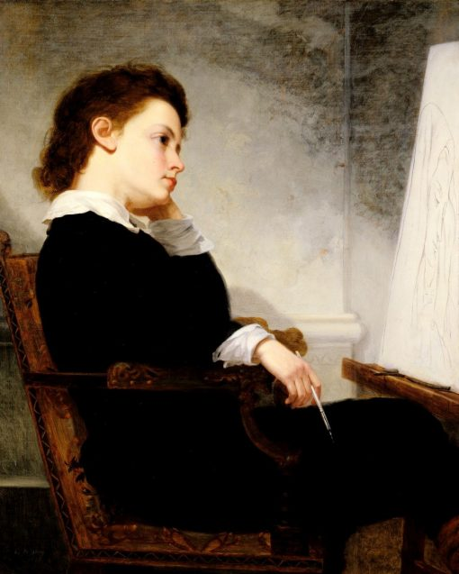 The Young Artist | George Henry Story | Oil Painting