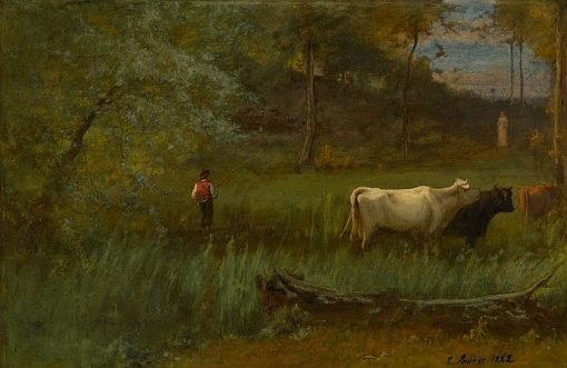 A Pastoral | George Inness | Oil Painting
