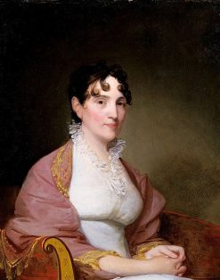 Mrs. Martha Hubbard Babcock | Gilbert Stuart | Oil Painting