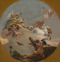 The Chariot of Aurora | Giovanni Battista Tiepolo | Oil Painting