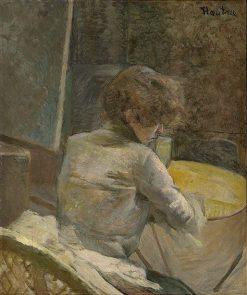 Waiting | Henri de Toulouse Lautrec | Oil Painting
