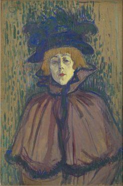 Jane Avril | Henri de Toulouse Lautrec | Oil Painting