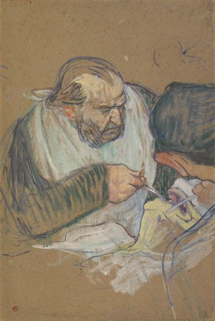 Dr Péan Operating | Henri de Toulouse Lautrec | Oil Painting