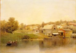 Village Landscape | Henry Pember Smith | Oil Painting