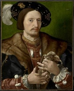 Portrait of a Gentleman | Jan Gossaert | Oil Painting