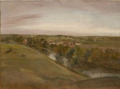Stratford Saint Mary from the Coombs | John Constable | Oil Painting