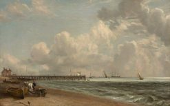 Yarmouth Jetty | John Constable | Oil Painting