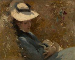 Resting | John Singer Sargent | Oil Painting