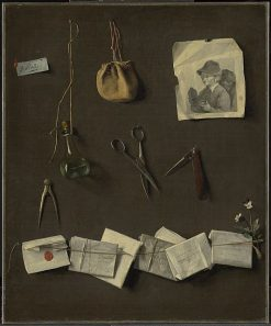 Various Objects | Louis LEopold Boilly | Oil Painting
