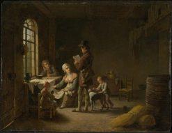 The Letter | Martin Drölling | Oil Painting