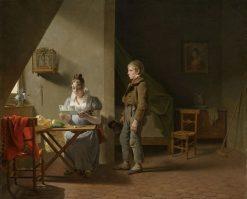 The Messenger | Martin Drölling | Oil Painting