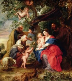 The Holy Family under an Apple Tree | Peter Paul Rubens | Oil Painting