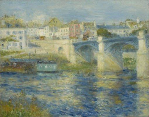 Bridge at Chatou | Pierre Auguste Renoir | Oil Painting