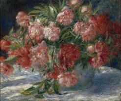 Peonies | Pierre Auguste Renoir | Oil Painting