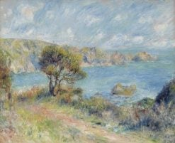 View at Guernsey | Pierre Auguste Renoir | Oil Painting