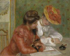 The Letter | Pierre Auguste Renoir | Oil Painting