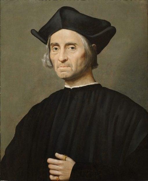 Portrait of a Man | Ridolfo Ghirlandaio | Oil Painting