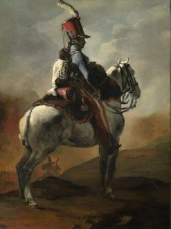 Trumpeter of the Hussars | ThEodore GEricault | Oil Painting