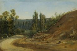 Road in the Jura | ThEodore Rousseau | Oil Painting