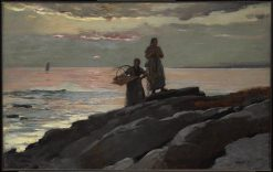 Saco Bay | Winslow Homer | Oil Painting
