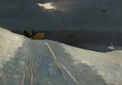 Sleigh Ride | Winslow Homer | Oil Painting