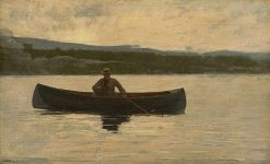 Playing a Fish | Winslow Homer | Oil Painting