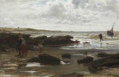 Fisher's Return | Jacob Maris | Oil Painting