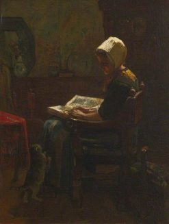 The Student | Jacob Maris | Oil Painting