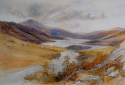A Scottish Loch | James Duffield Harding | Oil Painting