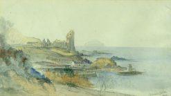 Dunure Castle Ayr | James Duffield Harding | Oil Painting