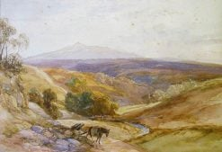 Landscape with a Horse | James Duffield Harding | Oil Painting