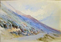 A Mountain Scene | James Duffield Harding | Oil Painting