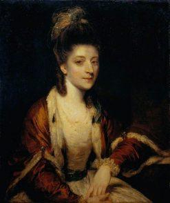 Harriet Dutens of Craigforth | Sir Joshua Reynolds | Oil Painting