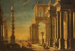 Architectural Capricci | Filippo Gagliardi | Oil Painting