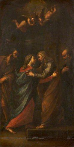 The Salutation (The Visitation) | Francesco Cairo | Oil Painting