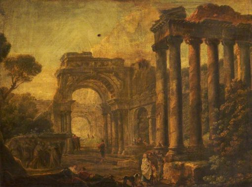 Capricci of Classical Ruins | Hubert Robert | Oil Painting