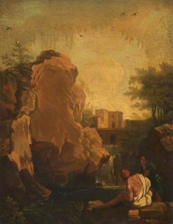 Landscape with Brigands | Salvator Rosa | Oil Painting