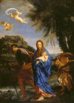 The Flight into Egypt | Carlo Maratta | Oil Painting