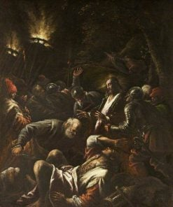 The Arrest of Christ   Jacopo Bassano   Oil Painting