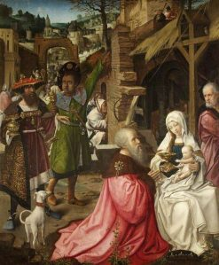 The Adoration of the Magi and Shepherds | Jan Provoost | Oil Painting